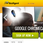 Bzzagent Homepage Screenshot