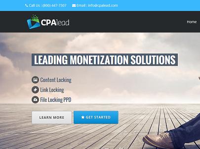 CPAlead Homepage