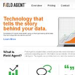 FieldAgent Homepage Screenshot