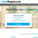 Music Magpie Homepage Screenshot