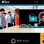 uTest Homepage Screenshot