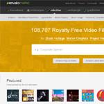 VideoHive Homepage Screenshot