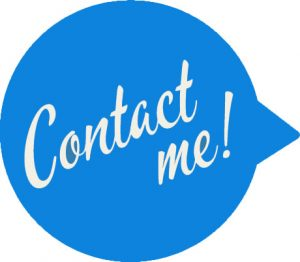 Contact Me Speech Bubble