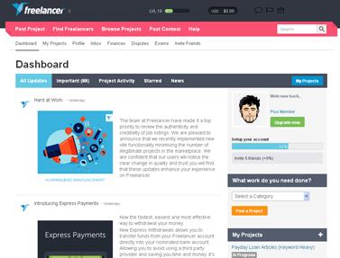 Freelancer Dashboard