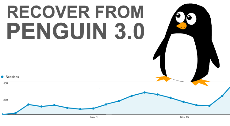 How I Recovered From Penguin 3.0 Without Waiting Around
