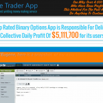 Elite Trader App Homepage
