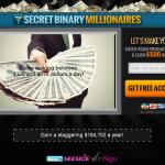 Secret Binary Millionaires Homepage