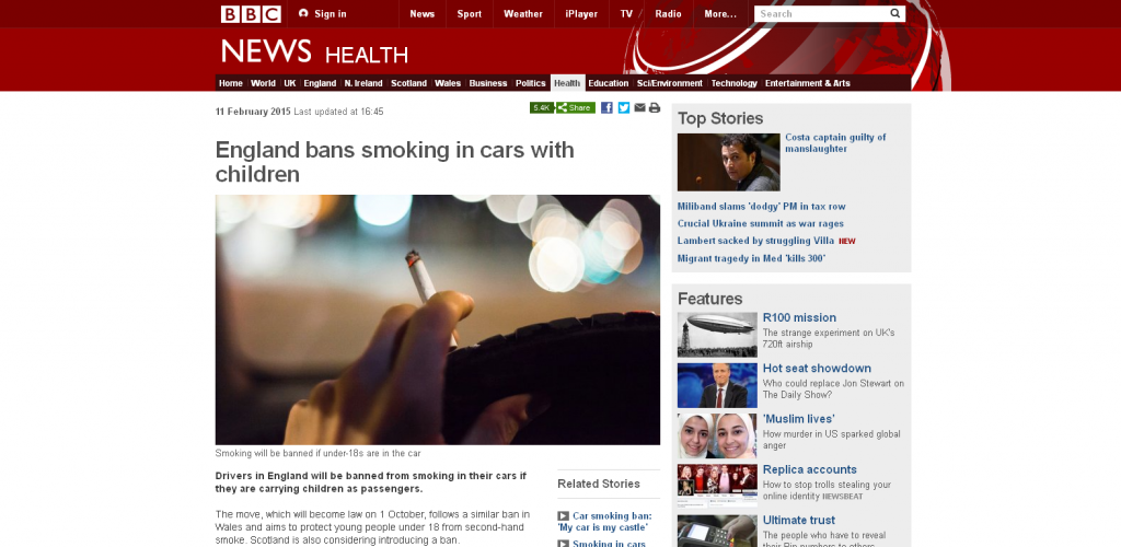 BBC Website Non Snipped