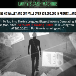 Larry's Cash Machine Homepage