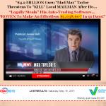 Mad Max Profits Homepage