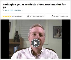 Testimonial Actor