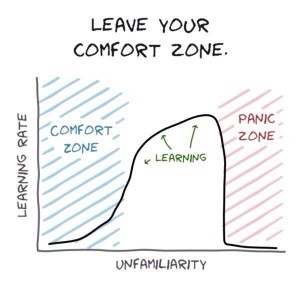 Learn Outside Your Comfort Zone