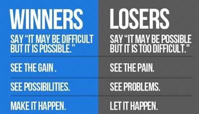 Winners VS Losers