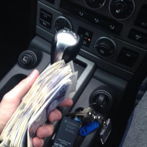 Holding Money In My Car