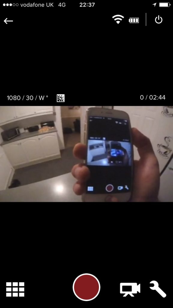 GoPro Session iPhone Connection