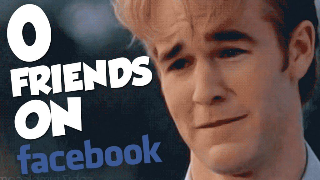 No Friends On Facebook