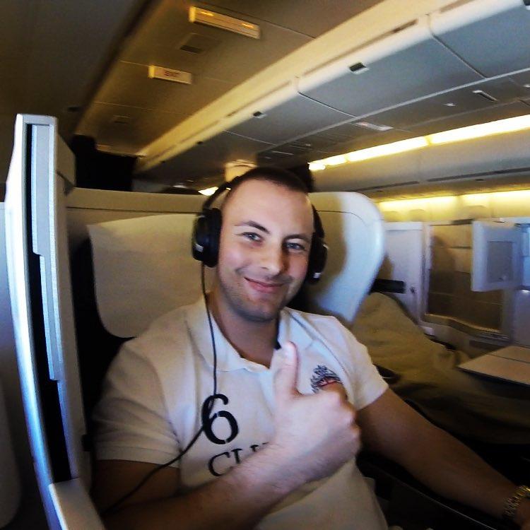 First Class Flight to Vegas