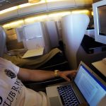 Blogging On An Airplane