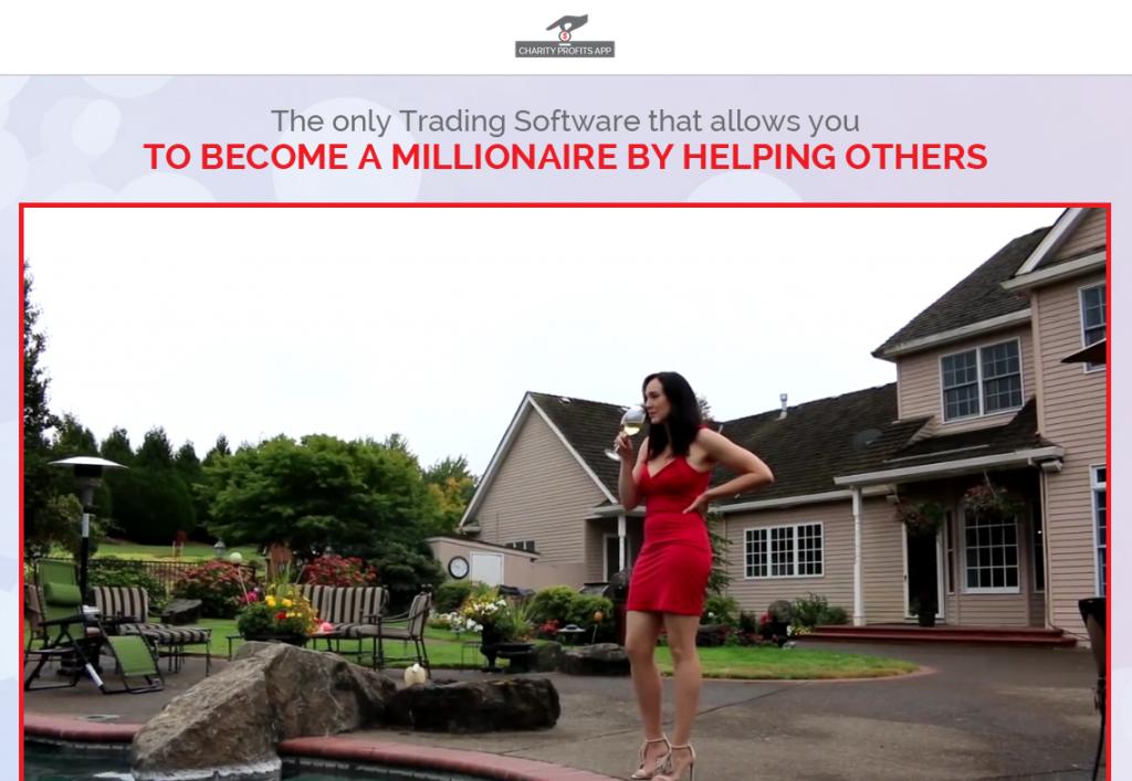 Charity Profits Homepage