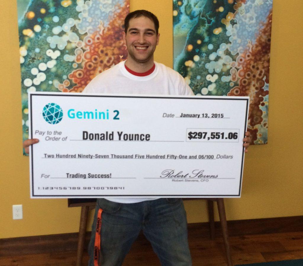 Donald Gemini2 Cheque