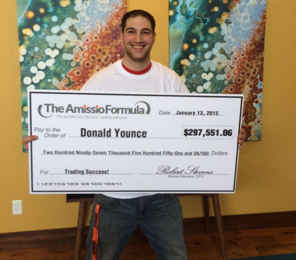 Donald Formula Cheque