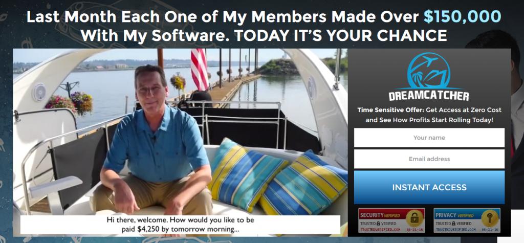 Dream Catcher System Homepage