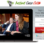 Instant Cash Club Homepage