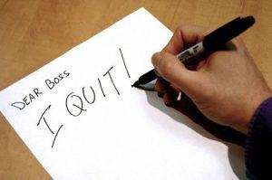 I Quit Letter