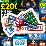 Free Bet Coupons Collage