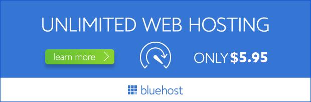 Bluehost Banner