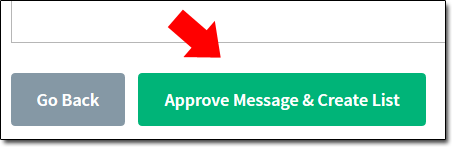 AWeber Approve List Button