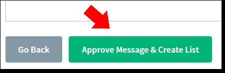 AWeber Approve List Button