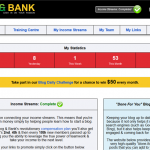 Blog and Bank Dashboard