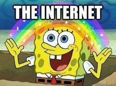 The Internet Is Magical Spongebob