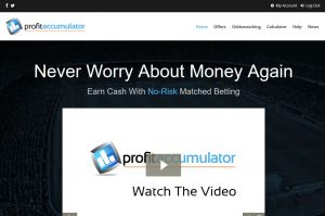 Profit Accumulator Homepage