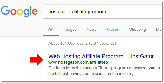 Searching For An Affiliate Program
