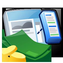 Google Adsense Make Money Icon