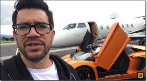 Tai Lopez Private Jet Lamborghini