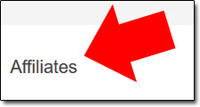 Screenshot of Link To Affiliate Sign Up Page