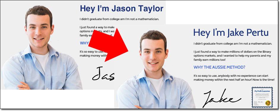 Jason Taylor & Jake Pertu