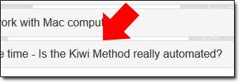 Kiwi Method FAQ