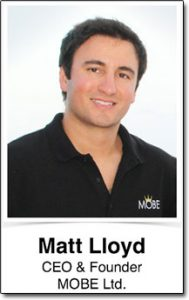 Photo of Matt Lloyd MOBE CEO