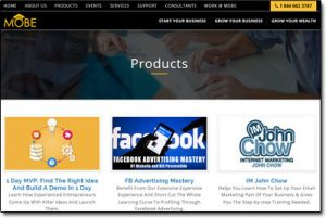 MOBE Products Marketplace