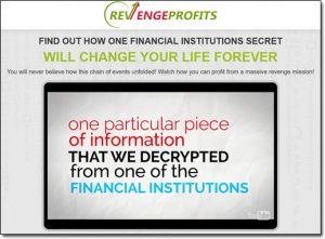 Revenge Profits Homepage Screenshot
