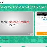 Screenshot of the Wealth Crew homepage