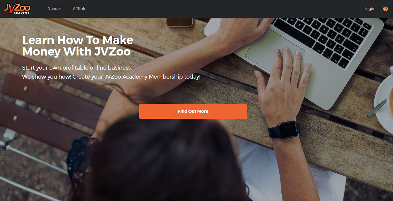 JVZoo Academy Homepage