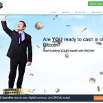 Screenshot of the BitClub Network Homepage