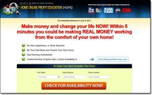 Home Online Profit Education Homepage Screenshot Thumb