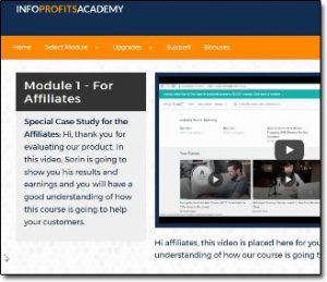 Info Profits Academy Members Area