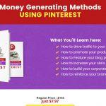 Screenshot of Pinterest Money Generating Methods